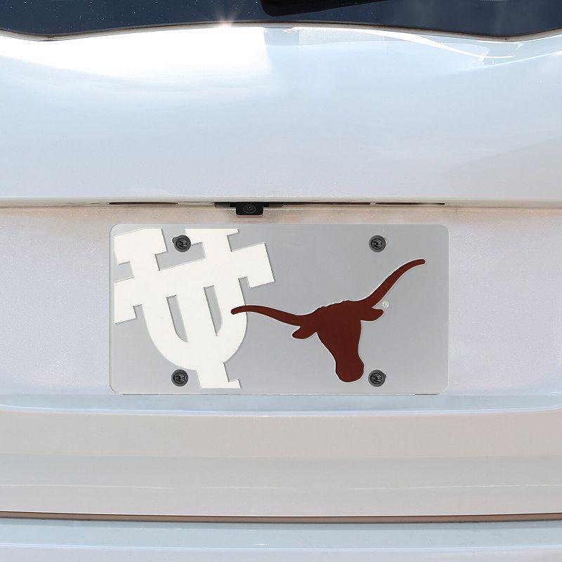 Texas Longhorns Mega License Plate Inlaid