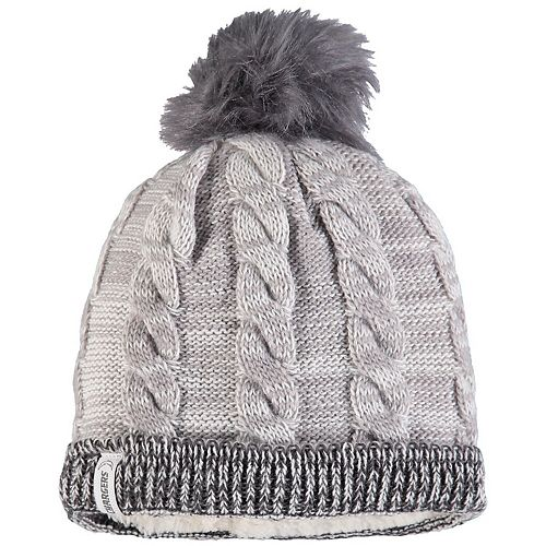 Women's New Era Gray/Graphite Los Angeles Chargers Cozy Team Cuffed Knit Hat
