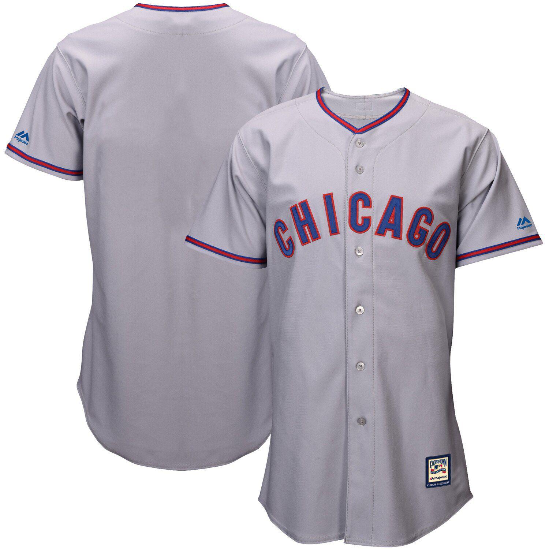 gray cubs jersey