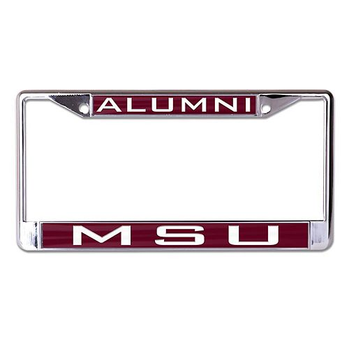 WinCraft Mississippi State Bulldogs Alumni Inlaid Metal License Plate Frame