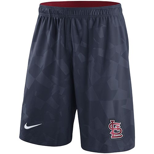 Men's Nike Navy St. Louis Cardinals Knit Shorts