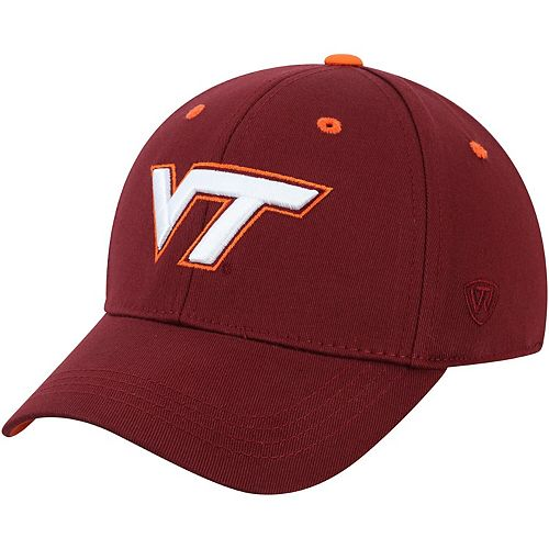 Youth Top of the World Maroon Virginia Tech Hokies The Rookie 1Fit Hat