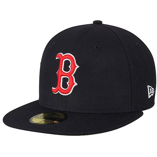 Men's New Era Navy Boston Red Sox Standard 2 Low Profile 59FIFTY Fitted Hat