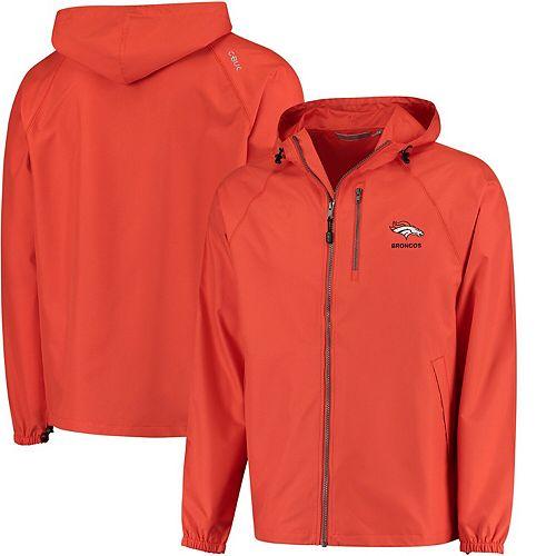 Men's Orange Denver Broncos Anderson Full-Zip Jacket