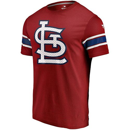 Men's Fanatics Branded Red St. Louis Cardinals Iconic Jersey T-Shirt