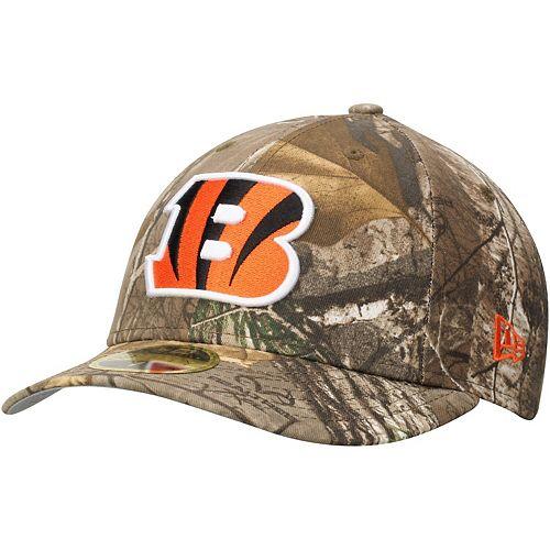 Men's New Era Realtree Camo Cincinnati Bengals Low Profile 59FIFTY Hat