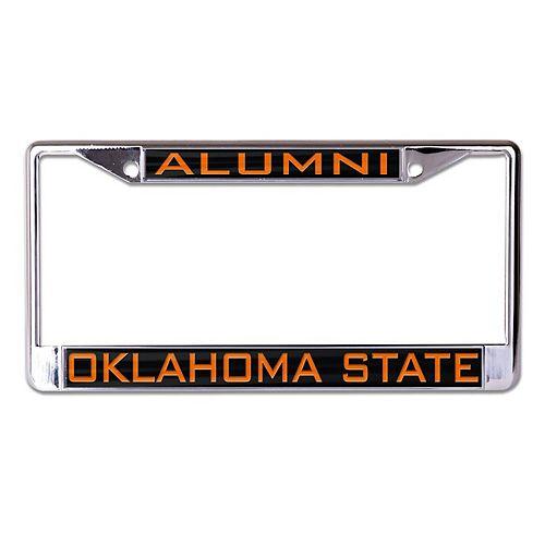WinCraft Oklahoma State Cowboys Alumni Inlaid Metal License Plate Frame