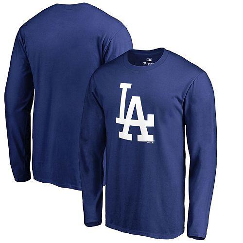 Men's Fanatics Branded Royal Los Angeles Dodgers Primary Logo Long Sleeve T-Shirt