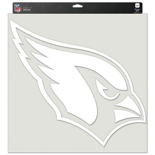 """WinCraft Arizona Cardinals 17"""" x 17"""" Perfect Cut Decal"""