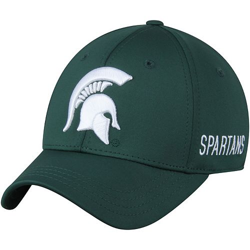 Men's Top of the World Green Michigan State Spartans Choice Flex Hat
