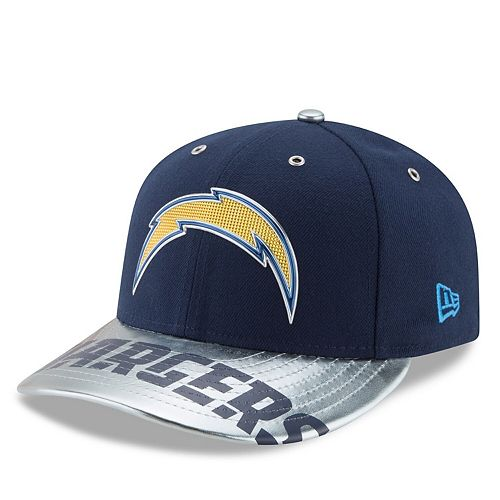 Men's New Era Navy Los Angeles Chargers NFL Spotlight Low Profile 59FIFTY Fitted Hat