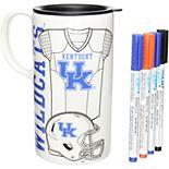 Kentucky Wildcats Just Add Color Tall Boy Mug