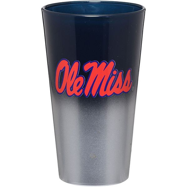 Ole Miss Rebels 16oz. Two-Tone Mixing Glass