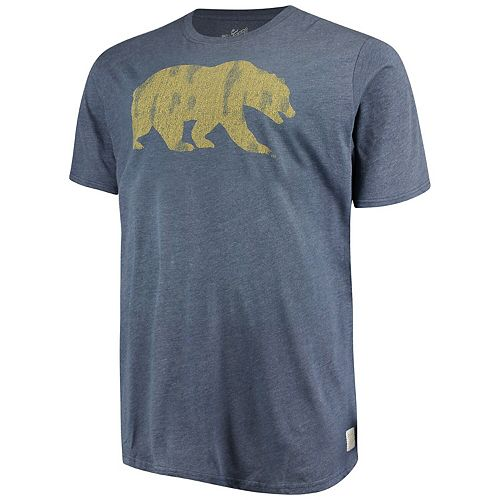 Men's Original Retro Brand Navy Cal Bears Big & Tall Mock Twist T-Shirt