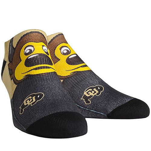 Women's Colorado Buffaloes Mascot Low Ankle Socks