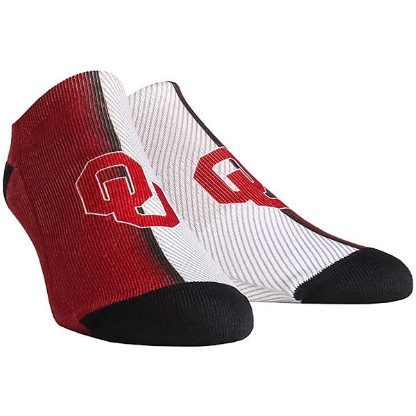 Men's Oklahoma Sooners Campus Stripe Ankle Socks