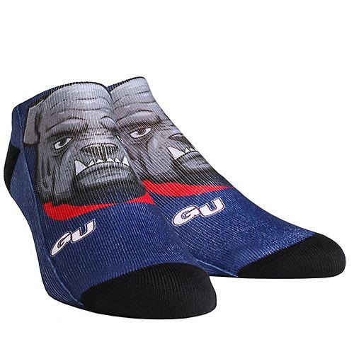 Men's Gonzaga Bulldogs Mascot Low Ankle Socks