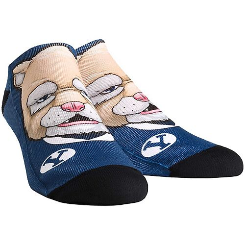 Youth BYU Cougars Mascot Ankle Socks