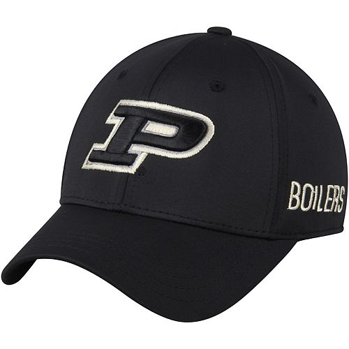 Men's Top of the World Black Purdue Boilermakers Choice Flex Hat