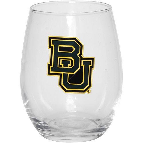 Baylor Bears 15oz. Stemless Wine Glass