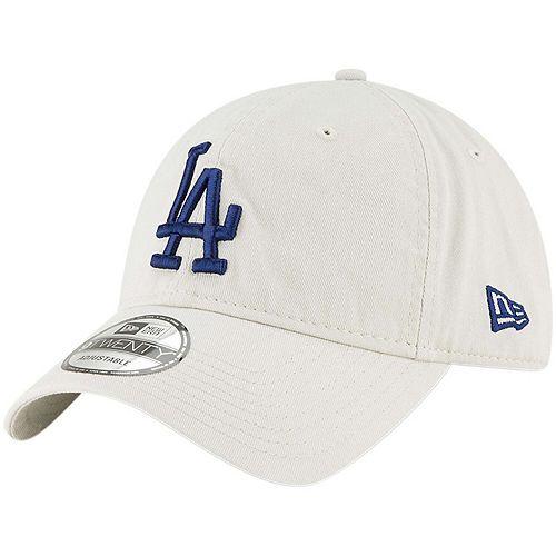 Men's New Era Tan Los Angeles Dodgers Core Classic Twill 9TWENTY Adjustable Hat