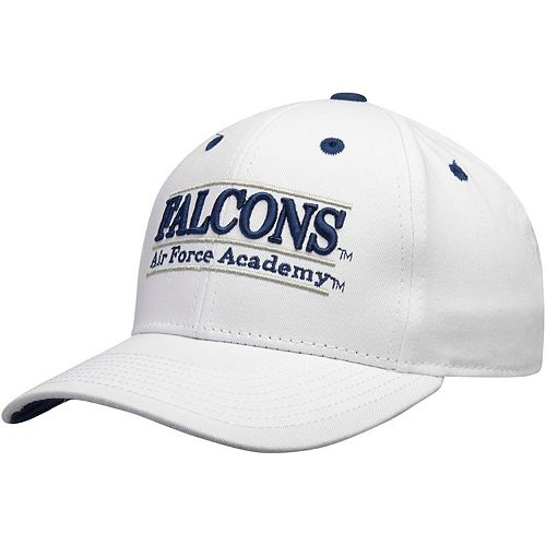 Men's The Game White Air Force Falcons Nickname Classic Bar Adjustable Snapback Hat
