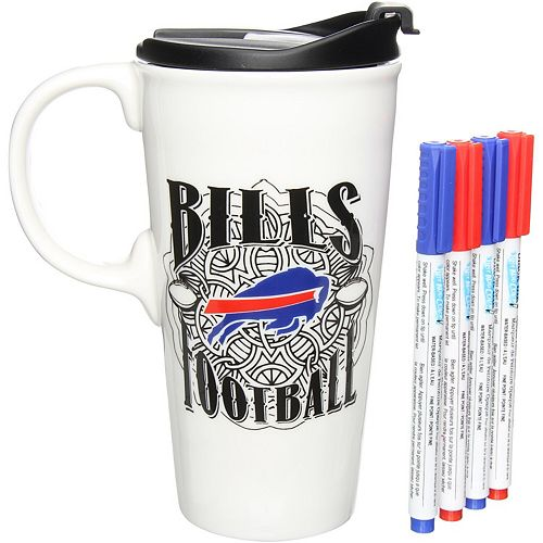 Buffalo Bills 17oz. Just Add Color Perfect Cup