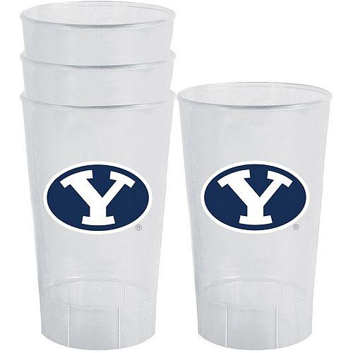 BYU Cougars 16oz. Acrylic Tumblers 4-Pack Set