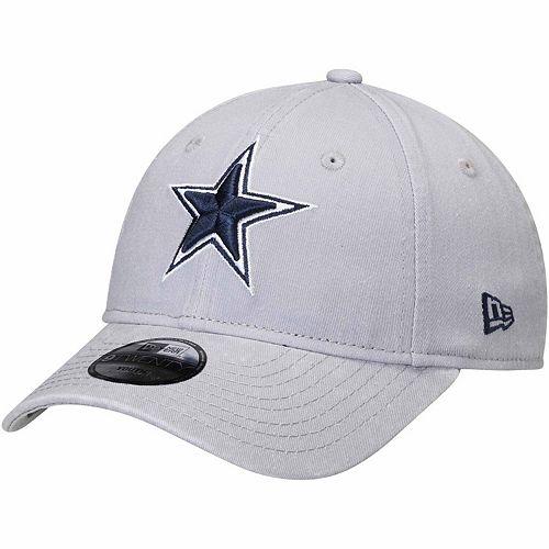 Youth New Era Gray Dallas Cowboys Core Classic 9TWENTY Adjustable Hat
