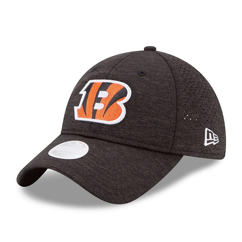 Women's New Era Black Cincinnati Bengals 2017 Training Camp Official 9TWENTY Adjustable Hat