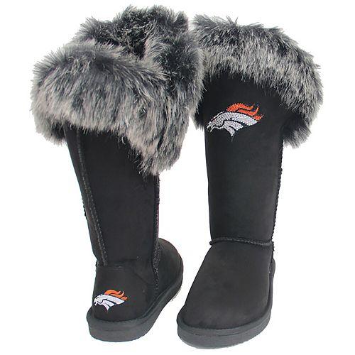 Women's Cuce Black Denver Broncos Devoted Boots