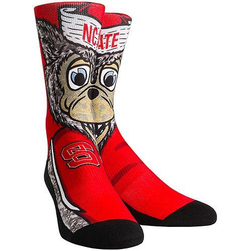 Women's NC State Wolfpack Mascot Crew Socks