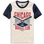 Youth Cream/Navy Chicago White Sox Timeless Pastime Ringer T-Shirt