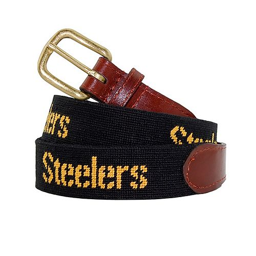 Pittsburgh Steelers Needlepoint Belt