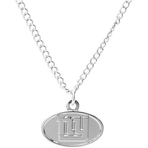 Women's WinCraft Silver New York Giants Logo Necklace