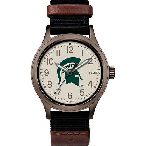 Men's Timex Michigan State Spartans Clutch Watch