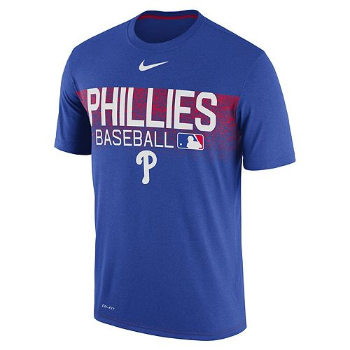 Men's Nike Royal Philadelphia Phillies Authentic Collection Legend Team Issued Performance T-Shirt