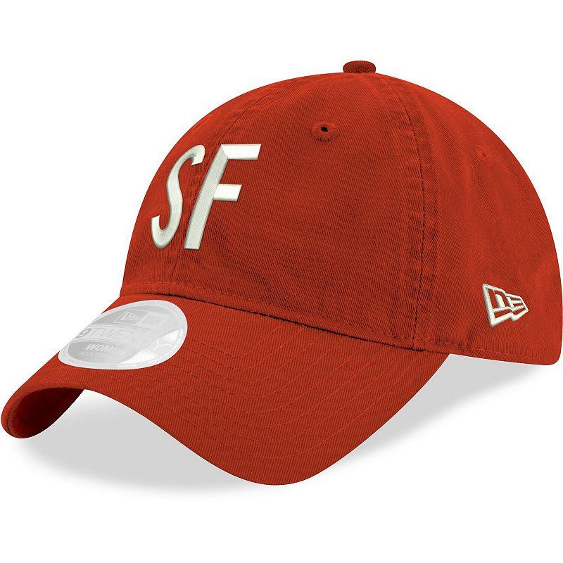 Women's New Era Scarlet San Francisco 49ers Hometown 9TWENTY Adjustable Hat, Red