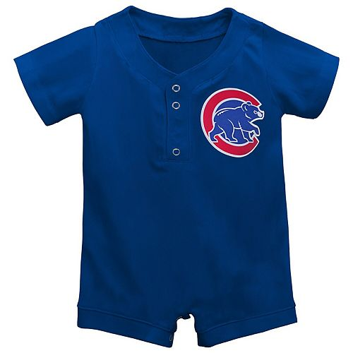Newborn & Infant Royal Chicago Cubs Replica Romper