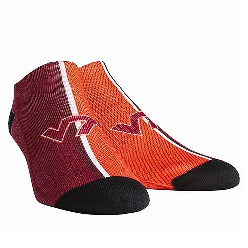 Youth Virginia Tech Hokies Campus Stripe Ankle Socks