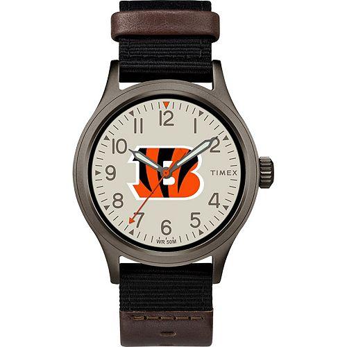 Men's Timex Cincinnati Bengals Clutch Watch