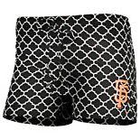 Women's Concepts Sport Black/White San Francisco Giants Slumber Sleep Shorts