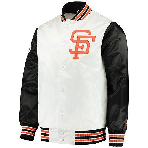 Men's Starter White San Francisco Giants The Legend Jacket