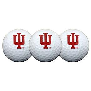 Indiana Hoosiers Pack of 3 Golf Balls