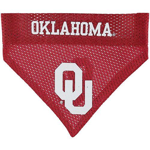 Oklahoma Sooners Reversible Pet Bandana