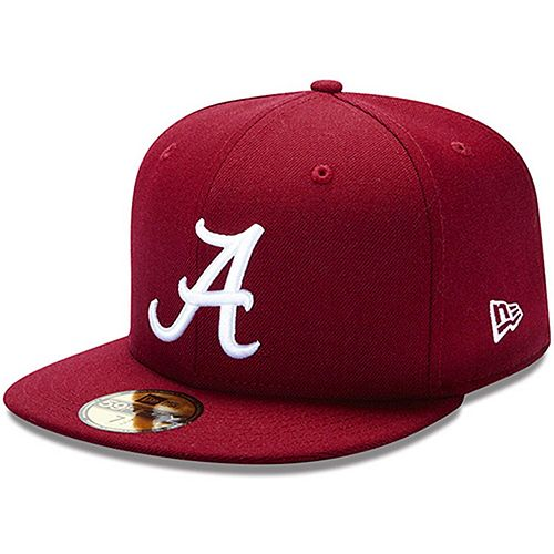 New Era Alabama Crimson Tide Crimson 59FIFTY Fitted Hat