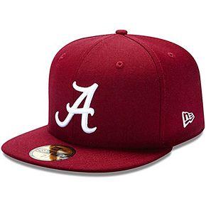 New Era Alabama Crimson Tide Crimson 59FIFTY Fitted Hat