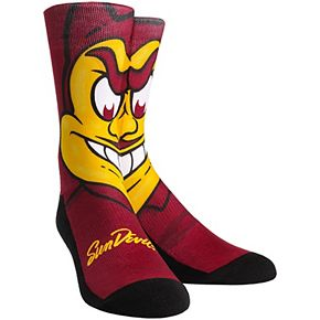 Women's Arizona State Sun Devils Mascot Crew Socks