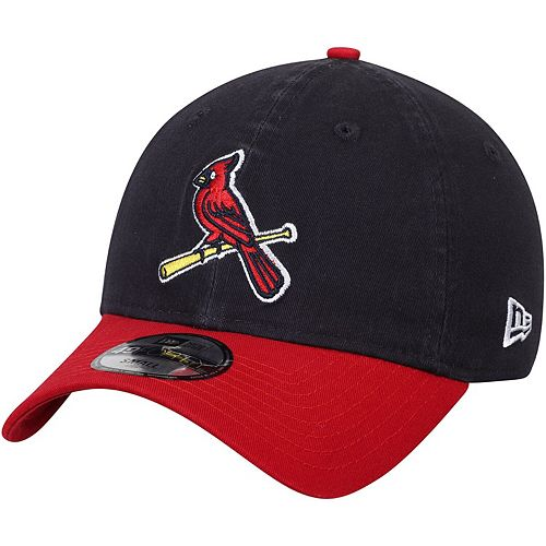 Men's New Era Navy/Red St. Louis Cardinals Core Fit Replica 49FORTY Fitted Hat