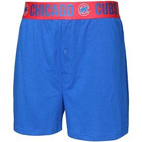 Men's Concepts Sport Royal Chicago Cubs Title Boxer Shorts